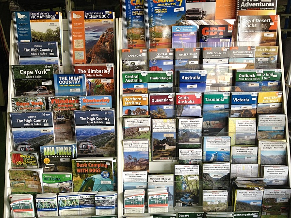 ABC Maps, large range of local and interstate maps in store.